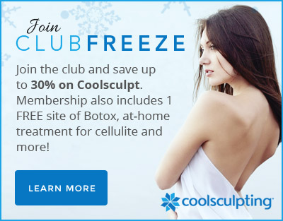 Coolsculpting - Join Club Freeze