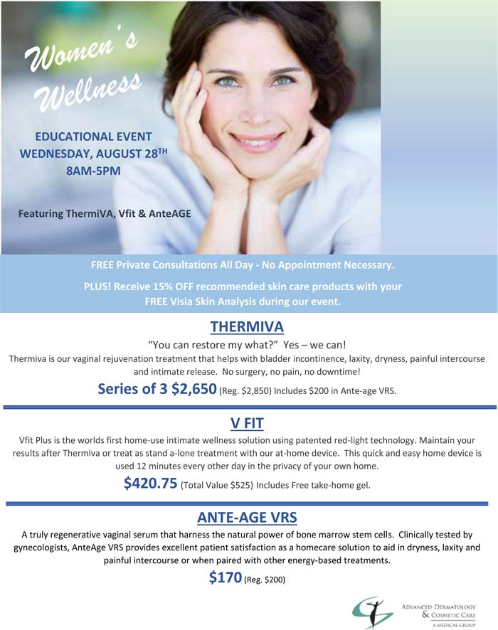 Womens Wellness Event