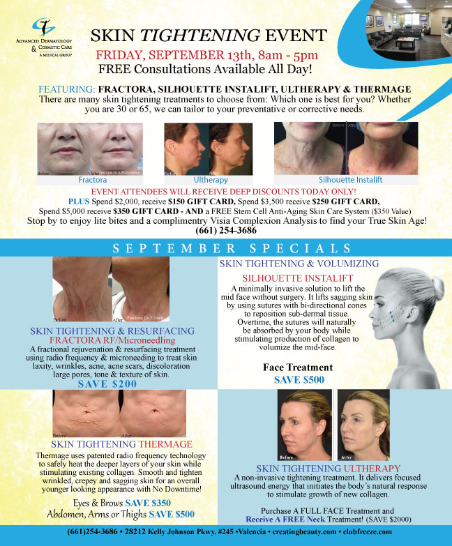 Skin Tightening Event